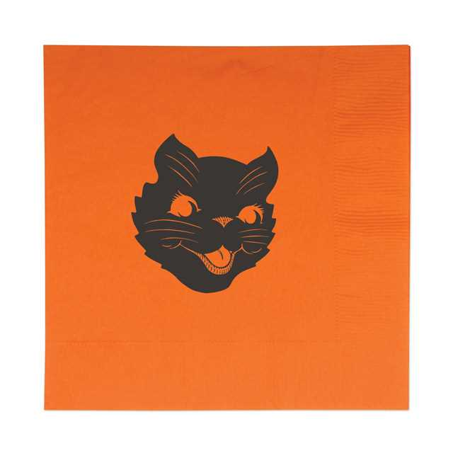 Cat Head Lunch Napkin