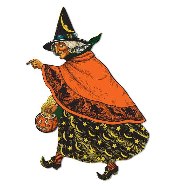 Classic Witch Cutout