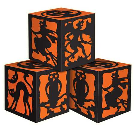 Halloween Silhouette Favor Boxes (3/pkg)