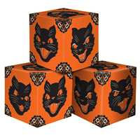 Cat Head Favor Boxes (3/pkg)