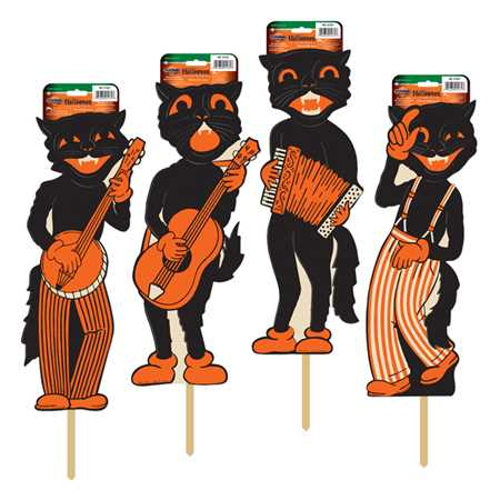 Scat Cat Band Yard Sign Set